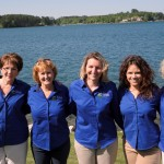 The Lovely Ladies: Pat Walmsley, Delane Graham, Sharalyn Kluke, Maggie Sthreshley & Trish Magas
